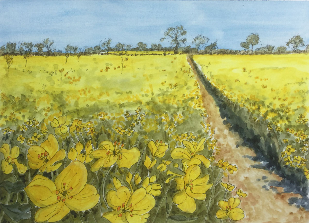 Norman Staines Artist